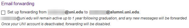 forwarding  (y/n)?