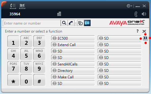 Avaya Show Additional Features