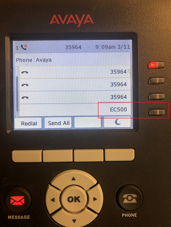 Avaya EC500 Enable