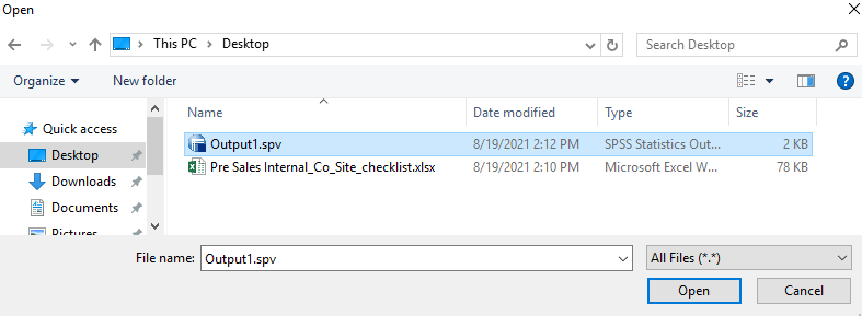 Locate the file on the Virtual machine you would like to download.