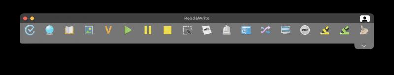 read&write toolbar